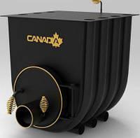 Булерьян, отопительная печь «CANADA» с варочной поверхностью «03» 27 кВт-750 М3, фото 1