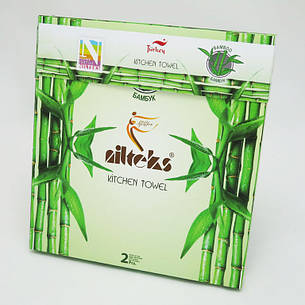 Набір кухонних рушників Nilteks Bamboo-Cotton Fruits, фото 2