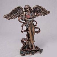 Бронзовая Статуэтка Сердце ангела (18 см)