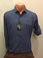 Турецкая мужская рубашка S,L,XL,2XL