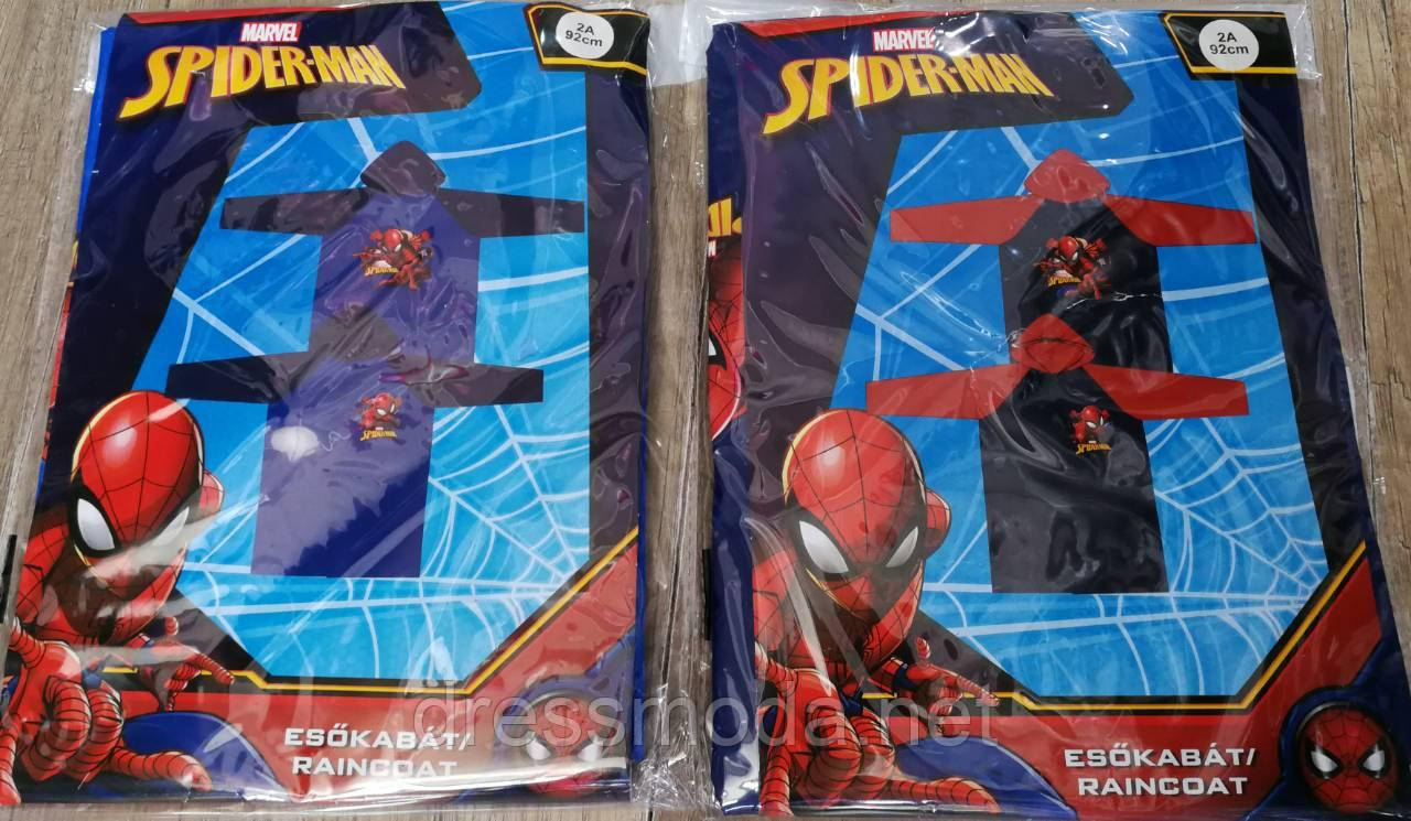 Дождевик для мальчиков Spider-Man 92-116р.р