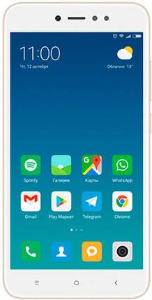 Смартфон Xiaomi Redmi Note 5A Prime 3/32Gb Глобальная Прошивка Gold Гарантия 3 месяца / 12 месяцев, фото 2