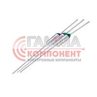 Термопредохранитель TZD-184 (184°C, 10А, 250V)