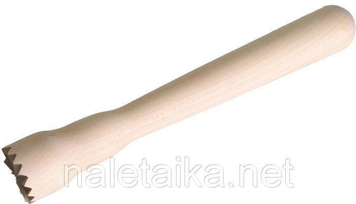 Мадлер деревянный L 210 мм (шт)