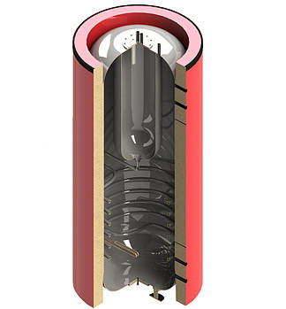 Теплоаккумулятор Termico 570 л. без изоляции