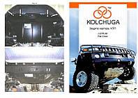 Защита на двигатель, КПП, радиатор для Fiat Linea Classic (2007-) Mодификация: 1,4i; 1,3D Кольчуга 1.0191.00 Покрытие: Полимерная краска