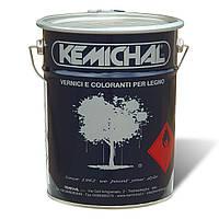 Акриловая белая эмаль для дерева МДФ OCV829BG20+C325 шелковисто-матовая  KEMICHAL (Италия) (5кг+0.5л)