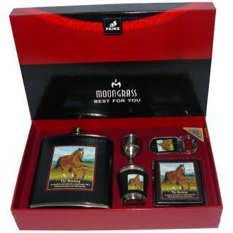"""Подарочный набор с флягой для мужчин  """"The Mustang"""""""