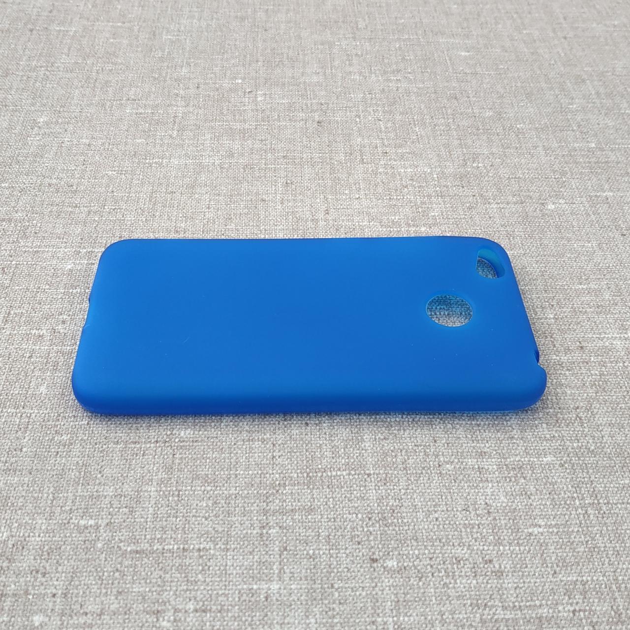Чехол TPU Xiaomi Redmi 4x blue 4X