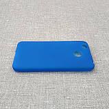 Чехол TPU Xiaomi Redmi 4x blue, фото 4