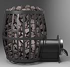 """Печь для бани """"БОЧКА"""" 33 м³ со стеклом, фото 3"""