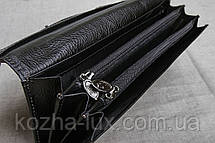 Кошелек B-6016 чёрный Braun Buffel без металла, натуральная кожа, фото 3