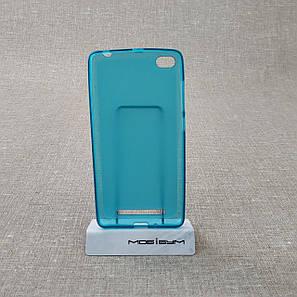 Чехол TPU Xiaomi Redmi 3 blue, фото 2