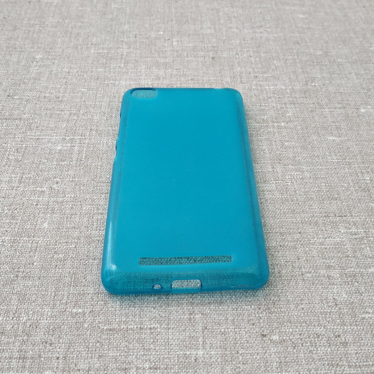 Чехол TPU Xiaomi Redmi 3 blue Для телефона