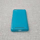Чехол TPU Xiaomi Redmi 3 blue, фото 3