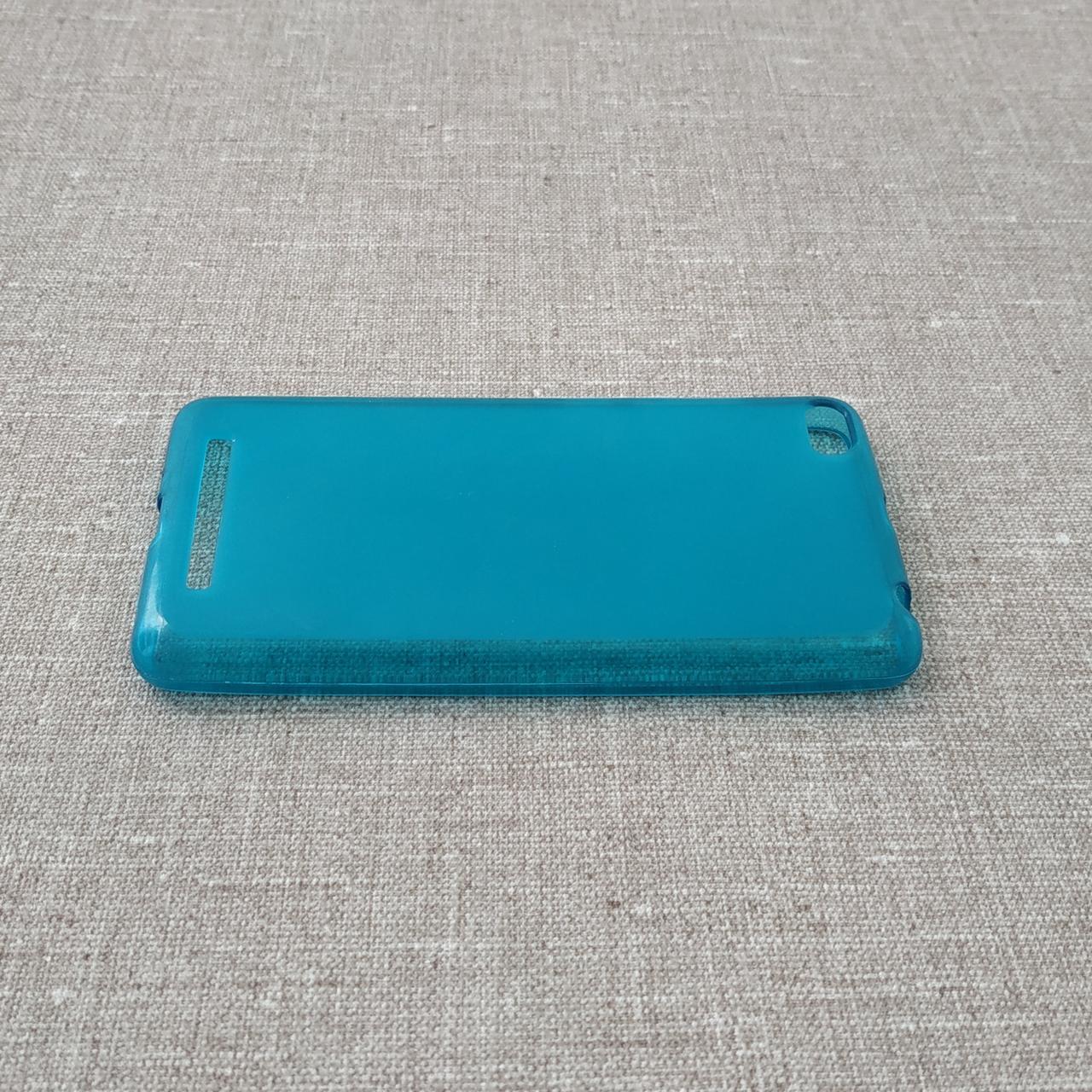 Чехлы для Xiaomi Redmi 3 TPU blue