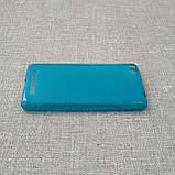 Чехол TPU Xiaomi Redmi 3 blue, фото 4