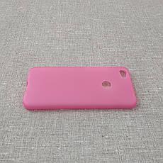 Чехол TPU Xiaomi Redmi Note 5a pink, фото 3
