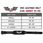 Пояс для тяжелой атлетики,пояс атлетический VNK Leather S, фото 5