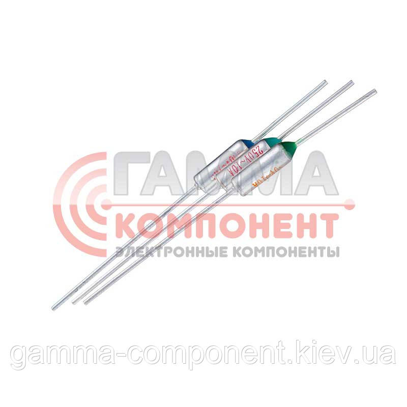 Термопредохранитель TZD-116 (116°C, 10А, 250V)