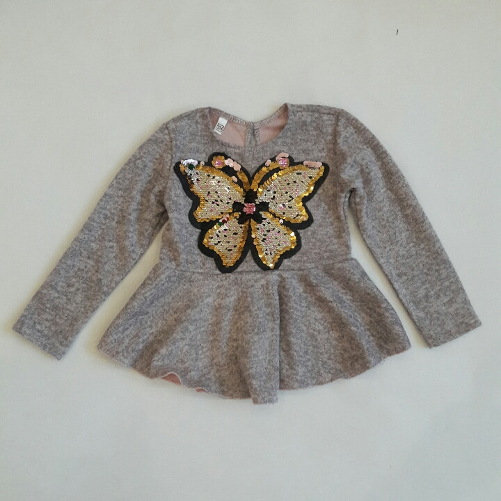 """Туніка """"Метелик"""" для дівчинки 3-7 років"""