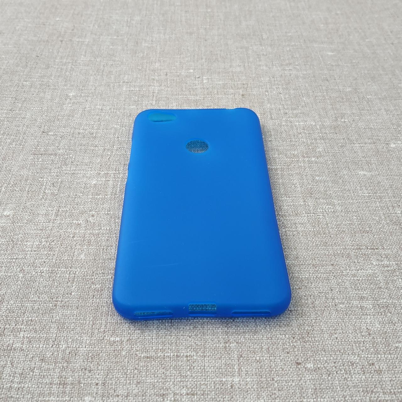 Чехол TPU Xiaomi Redmi Note 5a blue 5A Prime