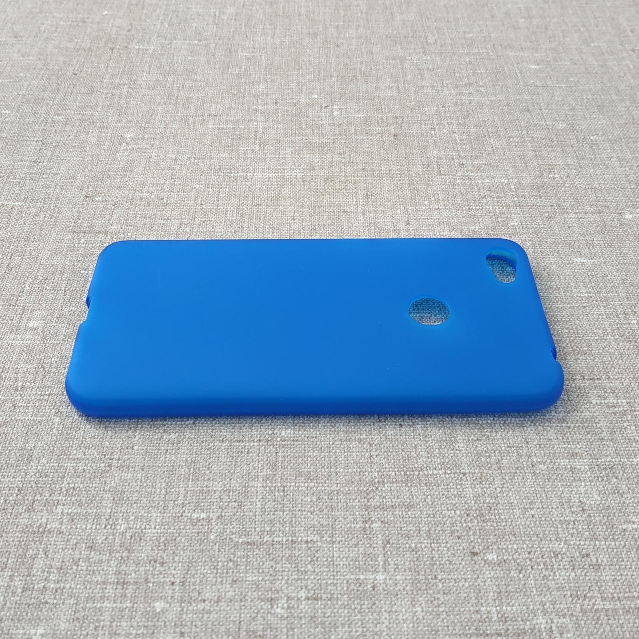 Чехол TPU Xiaomi Redmi Note 5a blue 5A Prime Y1