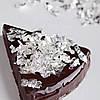 Пищевое сусальное серебро (1 лист)