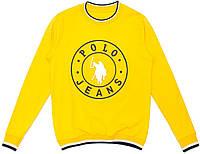 "Кофта для мальчика Brand ""Всадник"" ""Incossi"", жёлтый, 176(140-176), 176 см"