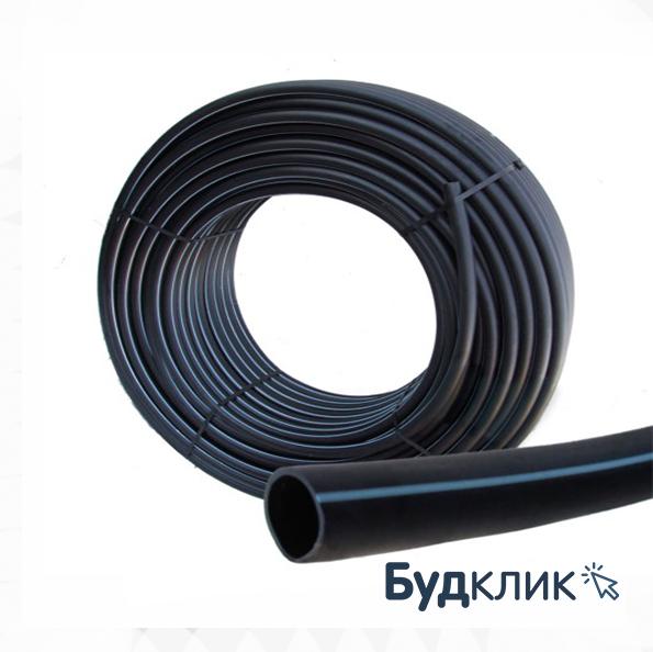 Труба Полиэтиленовая Черная С Синей Полосой Питьевая D63*4,7 Pn10