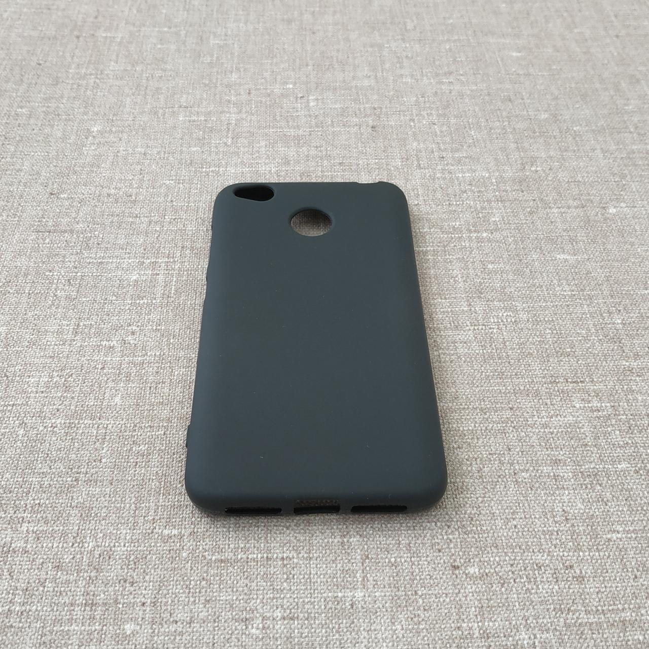 Чехлы для Xiaomi Redmi 4X TPU 4x black Для телефона