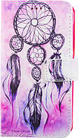 Чехол-книжка TOTO Book Universal cover Picture magic with window 4.0'-4.5' Dreamcatcher amulet
