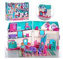 Кукольный дом 1205АВ Doll House (звук, свет, мебель, фигурки) , фото 4