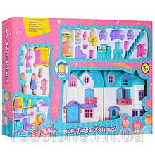Ляльковий будинок 1205АВ Doll House (звук, світло, меблі, фігурки)