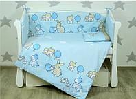 Детский постельный комплект Верес Биг фарм блу 6од. 220.01 Детский комплект