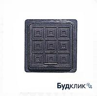 Люк Квадратный Полимерный Черный 480Мм Х 540Мм Гарден Максимальный Вес 1,5 Тонн