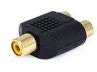 RCA адаптер - сплиттер 1 мама / 2 мама
