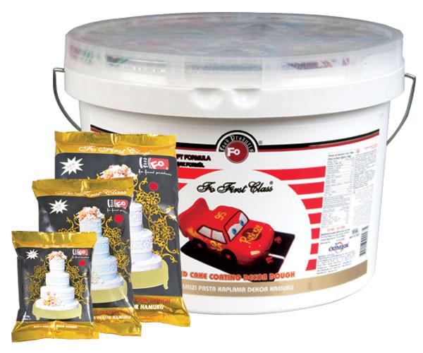 Сахарная Паста Fo First Class для Декора Красная (код 03585)
