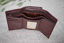 Кошелек женский кожаный отличный, натуральная кожа, фото 3