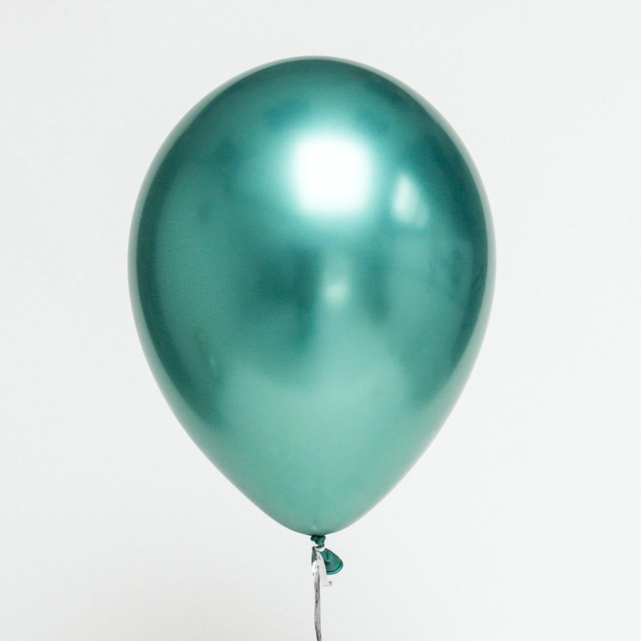 Шар хром зеленый chrome green 30 см