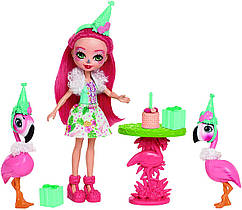 Кукла Enchantimals Энчантималс Фенси фламинго Праздник Фламинго Let's Flamingle