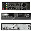 Цифровой эфирный Тюнер Т2 Lumax DV2106HD Full HD 1080p Тюнер T2 с экраном, фото 4