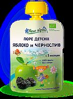 Пюре Fleur Alpine органическое детское Яблоко и Чернослив 90 г