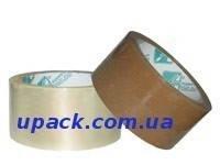 Скотч упаковочный прозрачный 40мкм*48мм*100м/п