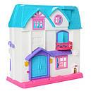 Кукольный дом 1205 Doll House (звук, свет, мебель, фигурки), фото 2