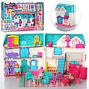 Кукольный дом 1205 Doll House (звук, свет, мебель, фигурки), фото 4
