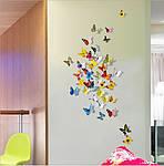 Набір метеликів 3D, фото 6