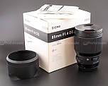 Sigma 85 f/1.4 ART для Canon