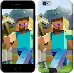 "Чехол на iPhone 6 Plus Minecraft 4 ""2944c-48-328"""
