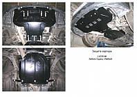 Защита на двигатель, радиатор для Subaru Outback 3 (2003-2009) Mодификация: только 3,0 Кольчуга 2.0003.01 Покрытие: Zipoflex